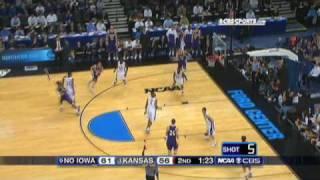 9 N. Iowa vs. 1 Kansas Highlights
