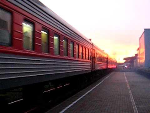 [LG] Lietuvos Geležinkeliai - Lithuanian Railways Express train nr. 21 from Vilnius...