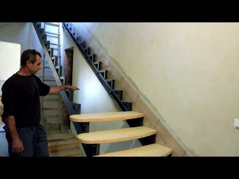 Stairs on a