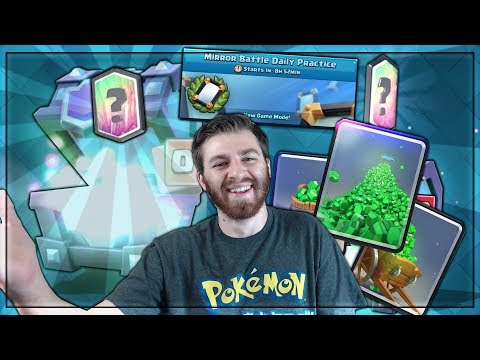 NEW GEMMING SPREES AGAIN! & SUPER MAGICAL OPENING! | Clash Royale | NEW MIRROR CHALLENGE!