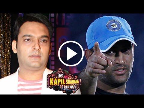 Kapil Sharma REFUSES To Promote M.S.Dhoni:...