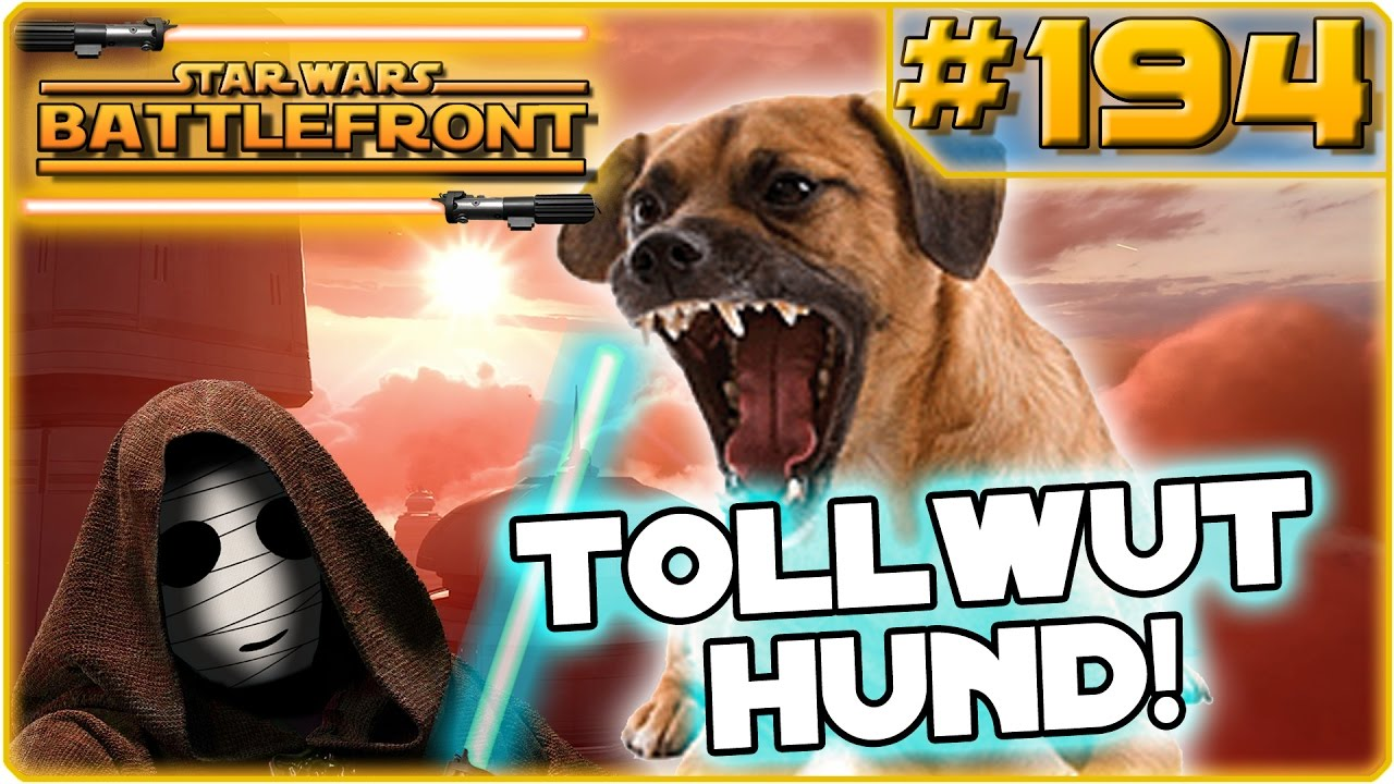 star wars battlefront tollwut hund real life story. Black Bedroom Furniture Sets. Home Design Ideas