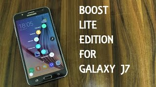 Boost Lite Edition ROM For Galaxy J7 2015 [VoLTE]
