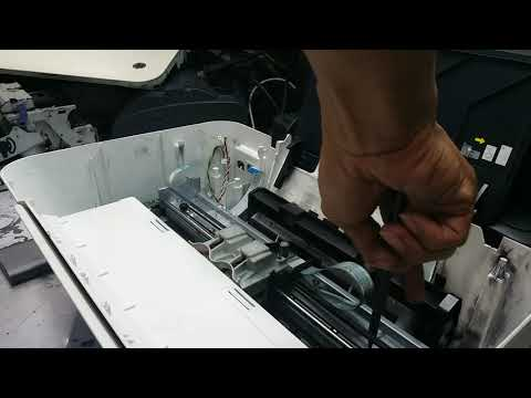 How To Disassemble HP Ink Advantage 1515 And Clean Encoder Strip