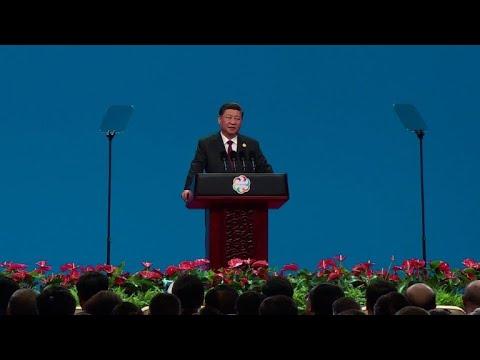 Xi says 'no clash' of civilisations amid US trade war