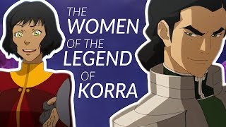 The Incredible Women of The Legend of Korra