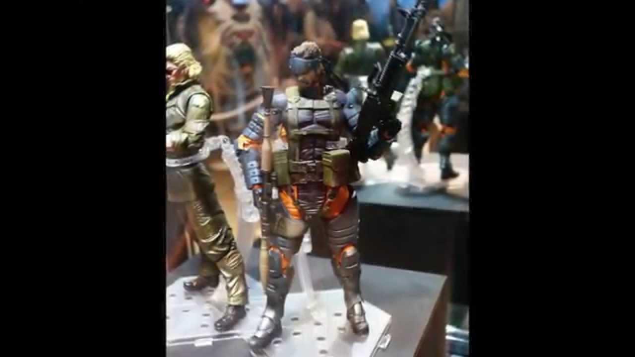 Kazuhira Miller Solid Snake Mgs1 Cyborg Ninja Play Arts