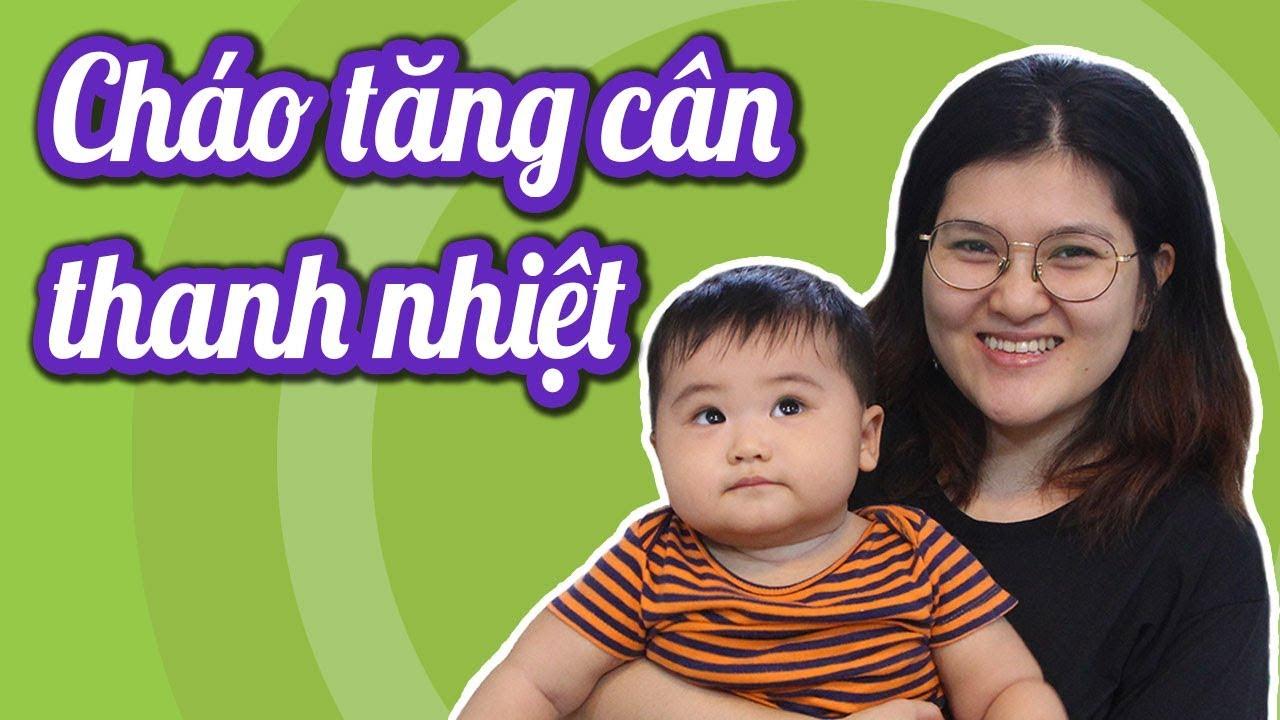 Cháo TĂNG CÂN cho bé còi 6-8 tháng ăn ngon miệng hơn   Món ăn giúp bé tăng cân/ Ăn dặm kiểu nhật