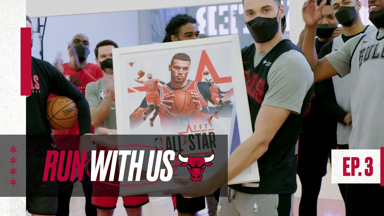 Run With Us S4 E3: Zach LaVine is an All-Star for the first time! | Chicago Bulls All-Access