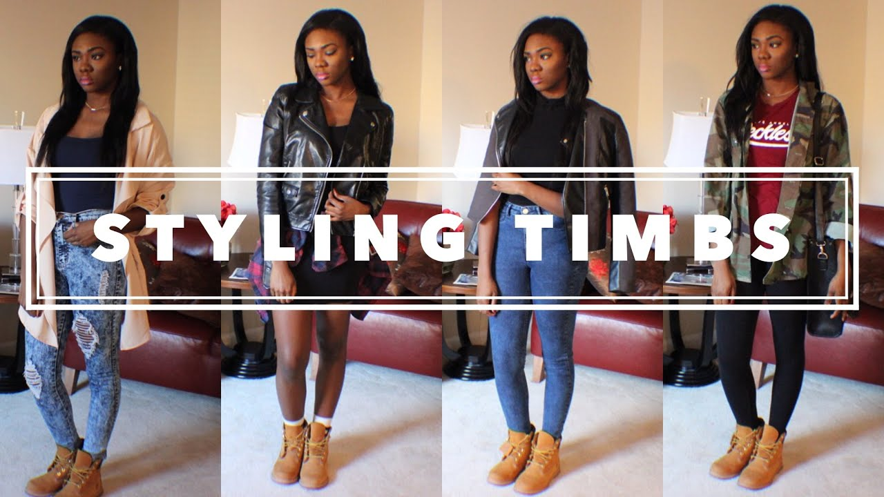Timberlands are for women. With what to wear such shoes