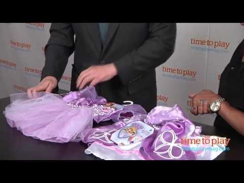 Sofia the First 2-in-1 Transforming Dress from Jakks Pacific - YouTube