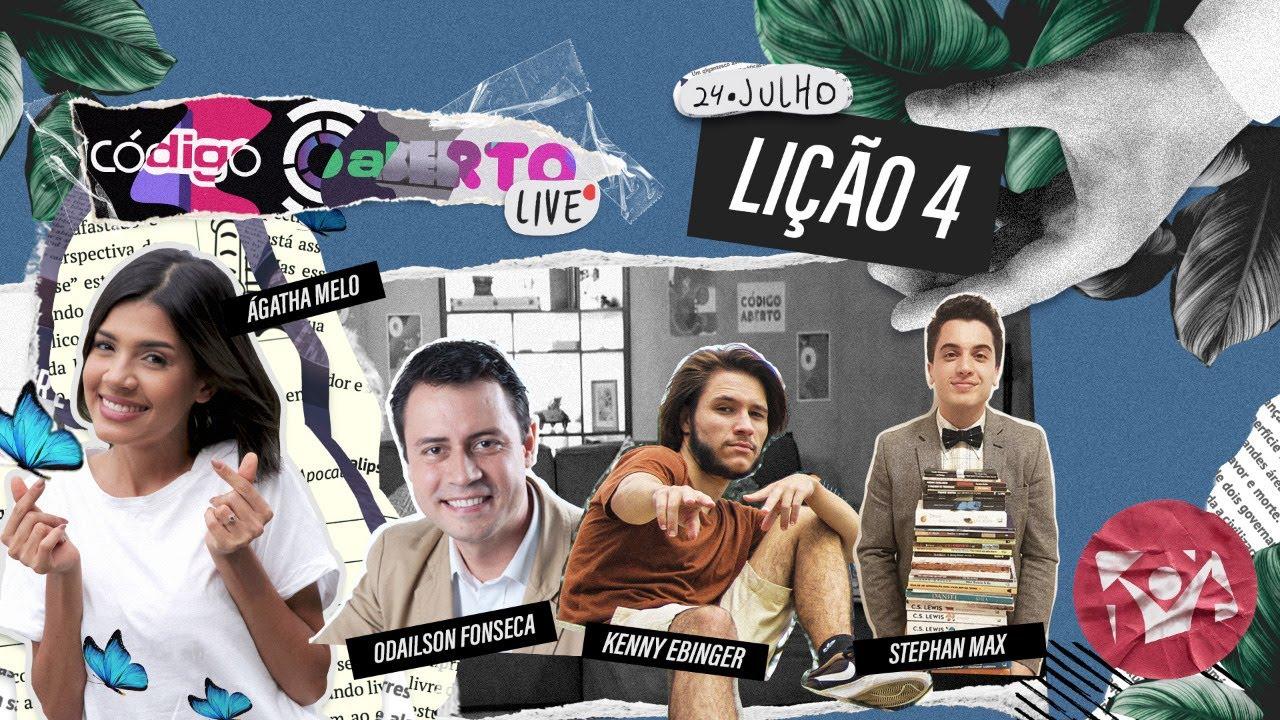 Código Aberto Live – Episódio 4 (Feat. Odailson Fonseca, Stephan Max e Kenny Ebinger)