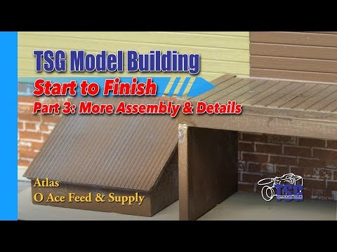O Scale Atlas Feed Store Model Building 3 of 8 MBSTF