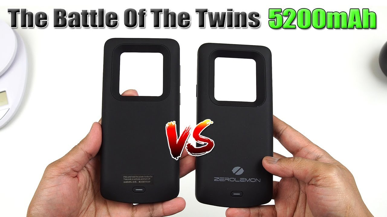 newest 3dd6b 46090 Samsung S9 Plus 5200mAh Battery Case (Elebase vs ZeroLemon) [4K] 21:9