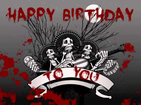 Happy Birthday - Death Metal version | Stoned Cemetery