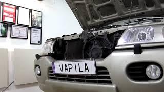Mitsubishi Pajero Sport  установка линз Ксеноновых или Диодных