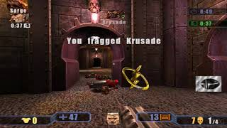 Quake III: Revolution PS2 Gameplay HD (PCSX2)