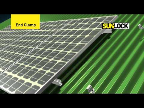 SunLock mounting system instructional video