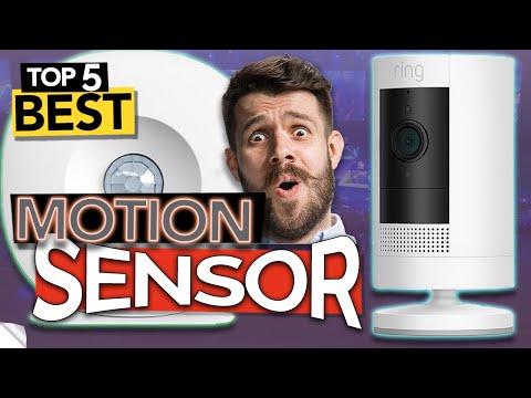 TOP 5 Best Motion Sensor and Motion Detector Camera