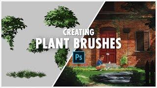 Creating Plant Brushes - Photoshop Tutorial