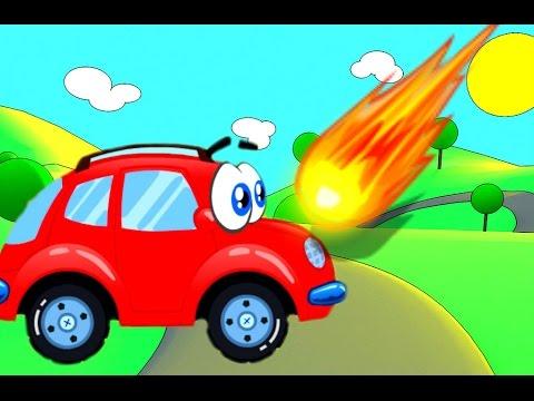 Мультики про Машинки Красная Машинка ВИЛЛИ Wheelie Детское видео