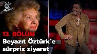 Beyazıt Öztürk'ün annesi O Ses Türkiye stüdyosunda! | O Ses Türkiye 2018