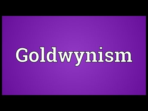Header of Goldwynism
