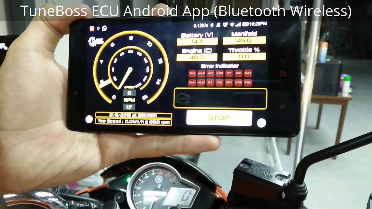 TuneBoss ECU Android App (Bluetooth Wireless)