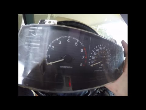 SR5 Dash Cluster Swap (tach & Speedo)- 80s Pickup/4Runner