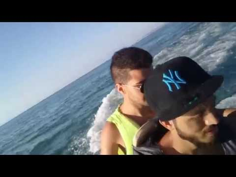 Moutazeus & Mohamad - adventure on Jet ski in Lattakia - Syria By Sony Z1