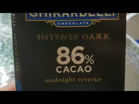 Is Dark Chocolate Healthy?  Ghirardelli 86% Cacao Review