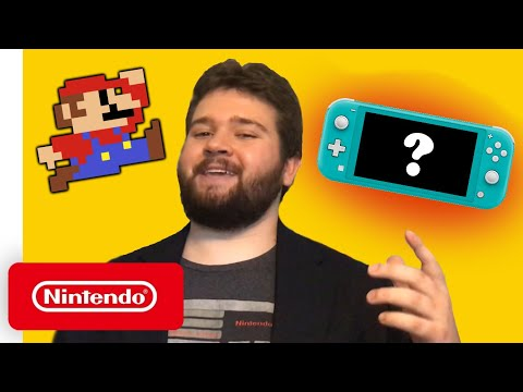 First Look at Nintendo Lite Switch