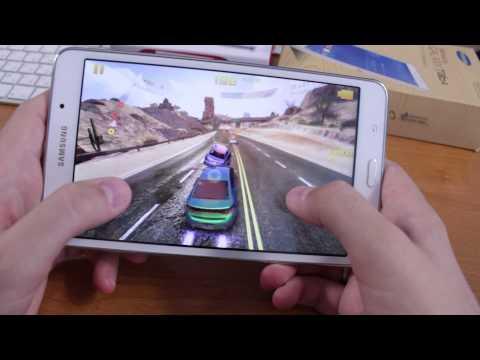 Как идет Asphalt 8 на Samsung Galaxy Tab 4 7.0