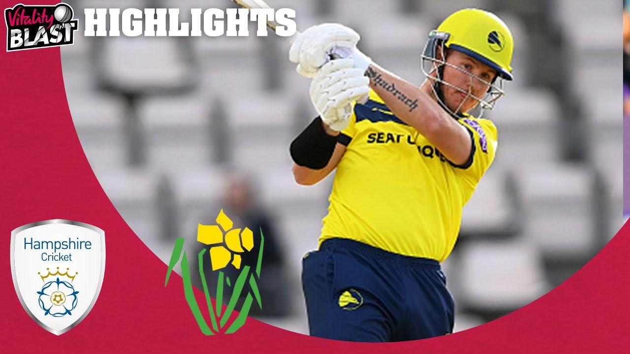 D'Arcy Short Stars With 69 off 30! | Hampshire v Glamorgan - Match Highlights | Vitality Blast 2021