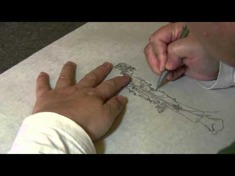 Figure Chinese Painting (Drawing Exercise) - Lin Daiyu from Red Chamber Dream - Version 1