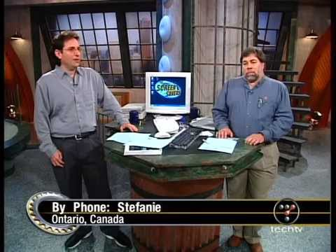 The Screen Savers - Hosted by Kevin Mitnick & Steve Wozniak - September 26, 2002
