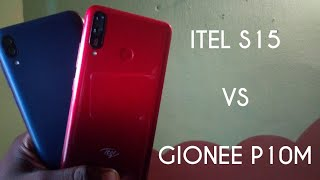 Itel S15 VS Gionee P10M - Speed Test