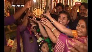 piyush was present at durga pandal of his locality on Shasthi