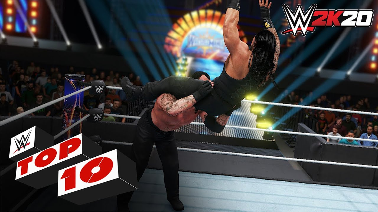 Powerbombs from Outta Nowhere: WWE 2K20 Top 10