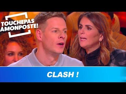 Valérie Bénaïm clashe Matthieu Delormeau, Cyril Hanouna s'interpose !