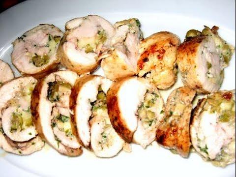 roulés-de-poulet-facile