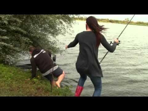La pêche sur la rivière kholova