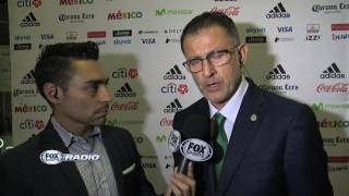 Juan Carlos Osorio asume el riesgo que tomó