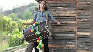 Dhol By Punjabi Girl