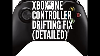 Xbox One Controller Drifting Fix (Detail)