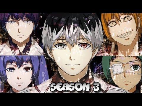 О 3 сезоне токийский гуль