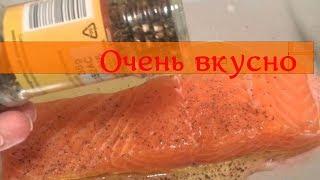 Брюшки сёмги с картошкой запечённые в фольге рецепт