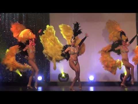 "Spectacle cabaret ""A Night in Paris"" , music hall, Daniela Gihr"