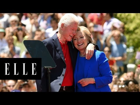 Hillary and Bill Clinton's Sweetest Moments | ELLE