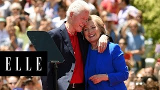 Hillary and Bill Clinton's Sweetest Moments   ELLE